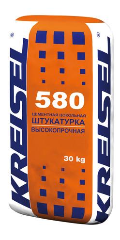 Штукатурка цоколя и фасада SOCKELPUTZ 580 Kreisel